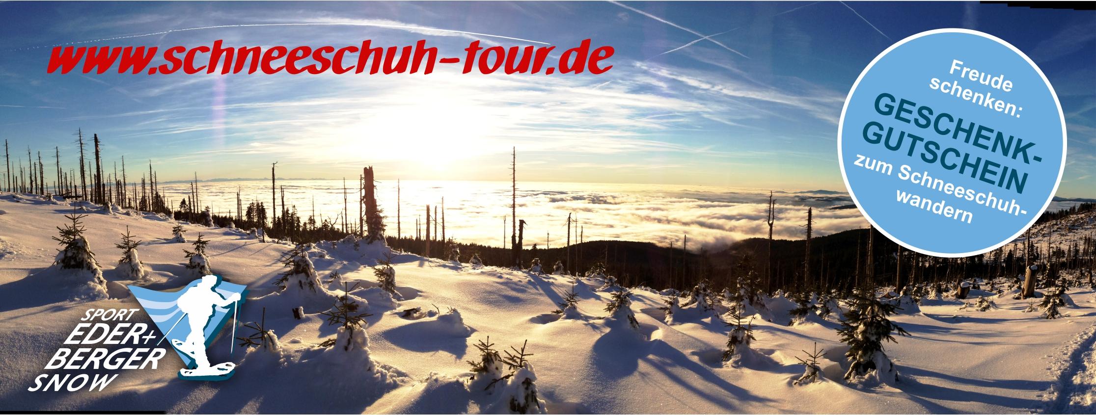 Gutschein Schneeschuhtour